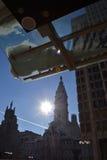 Jour d'hiver ensoleillé à Philadelphie Images stock