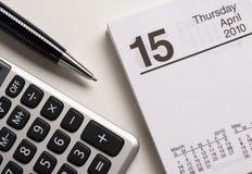 Jour d'impôts Image libre de droits