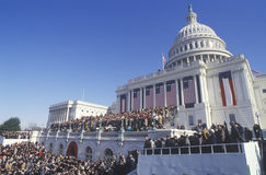 Jour d'inauguration de Bill Clinton Images stock
