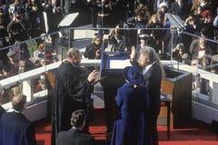 Jour d'inauguration de Bill Clinton Photographie stock