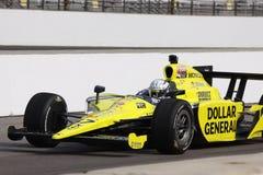 Jour d'Indianapolis 500 Pôle de charpentier d'Ed Indy 2011 photos stock
