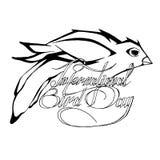 Jour d'oiseau du monde illustration de vecteur
