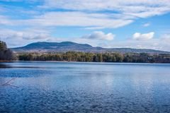 Jour d'?t? de Peacefull dans New Hampshire photographie stock