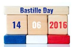 Jour de bastille Image stock