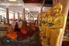 Jour de Ben de phcum du Cambodge dans le bouddhisme de pagoda dans Siem Reap Photos stock