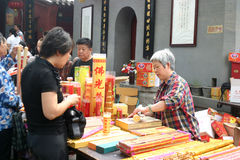 Jour de Bouddha Photos libres de droits