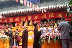 Jour de Bouddha Image libre de droits