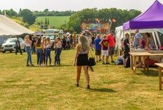 Jour de carnaval de Harthill sur le champ d'exposition photographie stock libre de droits