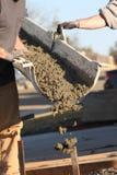 Jour de ciment Images stock