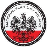Jour de collecte national Pologne illustration de vecteur