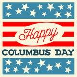 Jour de Columbus heureux Photographie stock