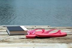 Jour de congé au lac Photographie stock
