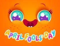 Jour de ` d'April Fools illustration de vecteur