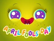 Jour de ` d'April Fools illustration stock