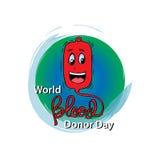 Jour de donneur de sang du monde illustration de vecteur