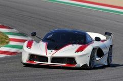 Jour de Ferrari Ferrari FXX 2015 K au circuit de Mugello Photos stock