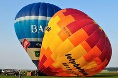 Jour de festival de ballon, Kunovice, République Tchèque Photos libres de droits