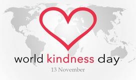 Jour de gentillesse du monde photos stock