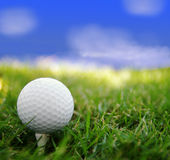 Jour de golf Photos stock