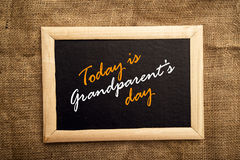 Jour de grands-parents Photo stock