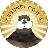 Jour de Groundhog Images libres de droits