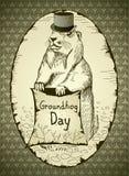 Jour de Groundhog Photos libres de droits