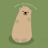 Jour de Groundhog Photo stock