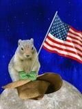 Jour de Groundhog traditionnel de vacances photographie stock