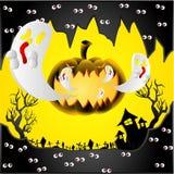 Jour de Halloween Illustration Libre de Droits