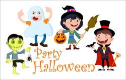 Jour de Halloween d'illustration Photo stock