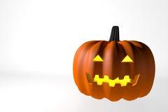 Jour de Halloween de potiron Photo stock