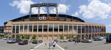 Jour de jeu - stade de Mets - la Reine New York Images stock