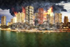 Jour de l'apocalypse Images libres de droits