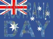 Jour de l'Australie Images libres de droits
