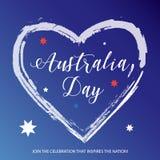 Jour de l'Australie illustration libre de droits