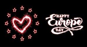 Jour de l'Europe Jour f?ri? annuel en mai illustration stock