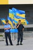 Jour de l'indépendance de l'Ukraine Photographie stock libre de droits
