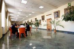 Jour de la connaissance dans les ressources minérales nationales université, St Petersburg, Russie Images stock