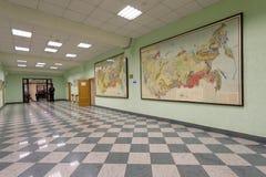 Jour de la connaissance dans les ressources minérales nationales université, St Petersburg, Russie Image libre de droits