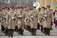 Jour de la Déclaration d'Indépendance à Vilnius Photographie stock libre de droits
