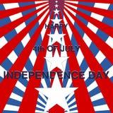 Jour de la Déclaration d'Indépendance, 4ème de juillet Photographie stock