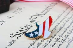Jour de la Déclaration d'Indépendance Image libre de droits