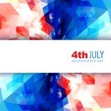 Jour de la Déclaration d'Indépendance américain Photographie stock libre de droits
