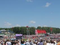 Jour de la Déclaration d'Indépendance Belarus Images libres de droits
