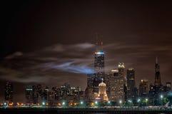 Jour de la Déclaration d'Indépendance Chicago Photos stock