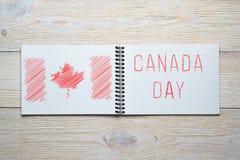 Jour de la Déclaration d'Indépendance de Canada Photos libres de droits