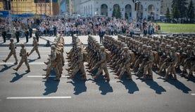 Jour de la Déclaration d'Indépendance de l'Ukraine Photos libres de droits
