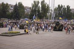 Jour de la Déclaration d'Indépendance de l'Ukraine Photos stock