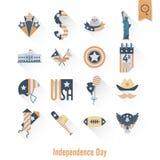 Jour de la Déclaration d'Indépendance des Etats-Unis Photographie stock libre de droits