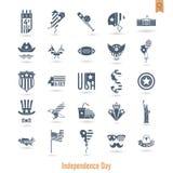 Jour de la Déclaration d'Indépendance des Etats-Unis Photographie stock